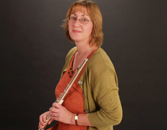 Kath Sugden from Speranza plays at New Room lunchtime recital