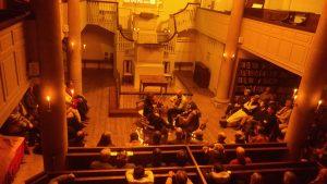 Monthly folk concert in Bristol