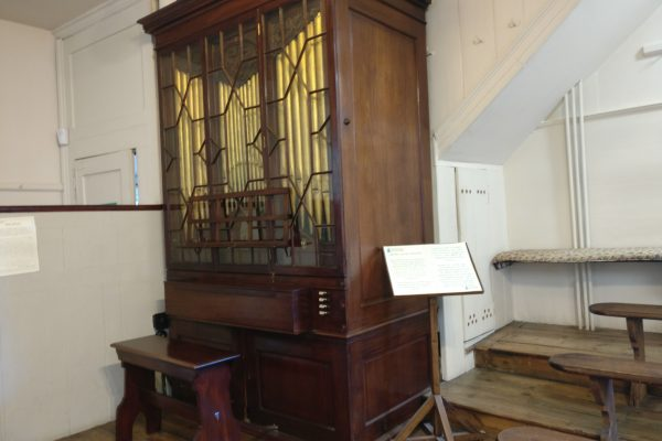 Charles Wesley organ made in 1761 by John Snetzler