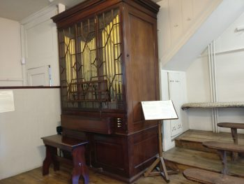 Charles Wesley organ made in 1761 by John Snetzler