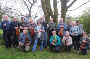 Somerset folk at John Wesley's Chapel