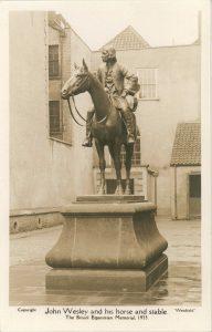 John Wesley Statue